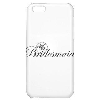 Sand Dollar Bridesmaid iPhone 5C Cases