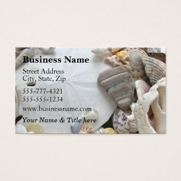 Professional Business Sand Dollar Business Card