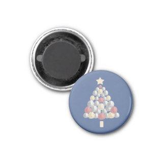 Sand Dollar Christmas Tree (blue) Magnet