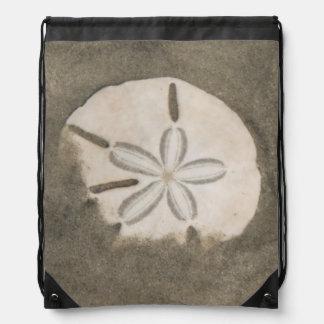 Sand dollar (Echinarachnius parma) Drawstring Bag