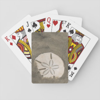 Sand dollar (Echinarachnius parma) Playing Cards