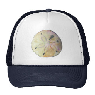 Sand dollar for beach combers trucker hat