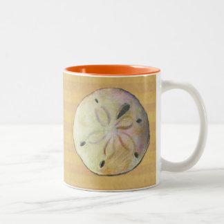Sand dollar for beach combers coffee mugs