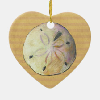 Sand dollar for beach combers christmas tree ornaments
