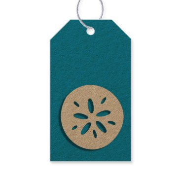 weddingbouquet Sand dollar gift tags