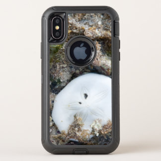 Sand Dollar in the Fiji Reef at Low Tide OtterBox Defender iPhone X Case