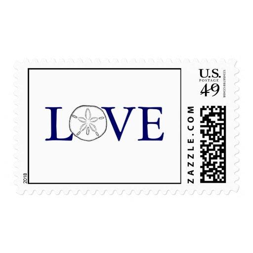 Sand dollar Love stamp