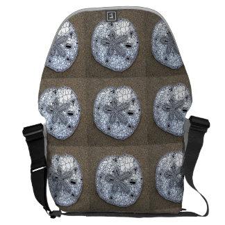 sand dollar messenger bag