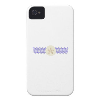 SAND DOLLAR ON WAVES iPhone 4 COVER