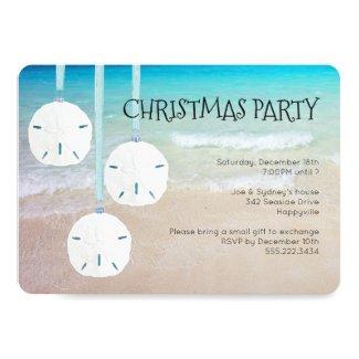 Sand Dollar Ornaments Christmas Party Beach