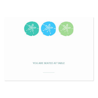 Sand Dollar Place Cards Business Card Template