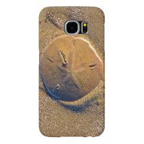 Sand Dollar Revealed On Beach | Hilton Head Island Samsung Galaxy S6 Case