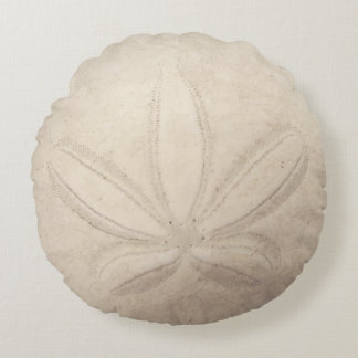 Sand Dollar Round Pillow