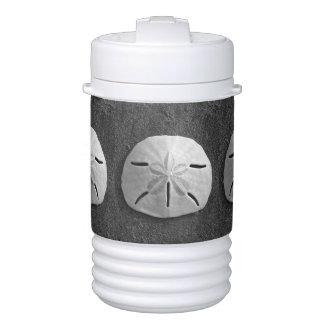 Sand Dollar Seashell Photo Beverage Cooler