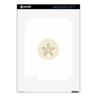 SAND DOLLAR DECALS FOR iPad 3