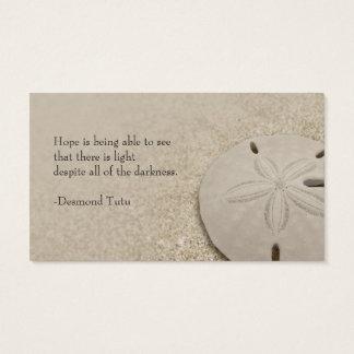 Sand Dollar Standard Business Card