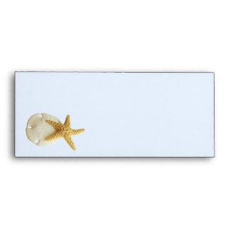 Sand Dollar & Starfish # 10 Envelope