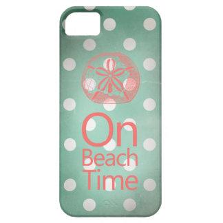 Sand Dollar Vintage Mint Polka Dot iPhone SE/5/5s Case