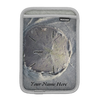 Sand Dollar with Small Crab Riding (Personalize) Sleeve For iPad Mini