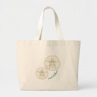 Sand Dollars Canvas Bag