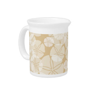 Sand Dollars Beverage Pitcher