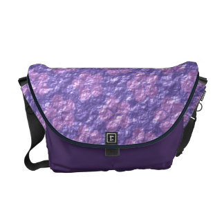 Sand Dollars (Lilac Jelly) Messenger Bags
