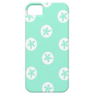 Sand Dollars on Seafoam iPhone SE/5/5s Case