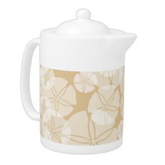 Sand Dollars Teapot
