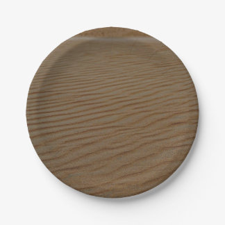 Sand Dune-Abstract by Shirley Taylor Paper Plate