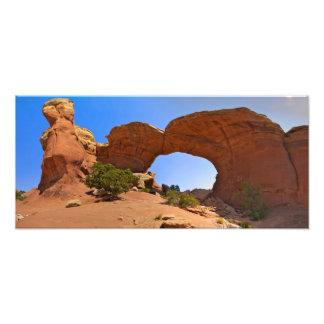 Sand Dune Arch Panorama Photograph