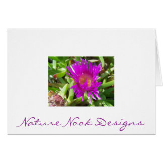 Sand Dune Flower Stationery Note Card