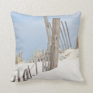 Sand dune photo throw pillow