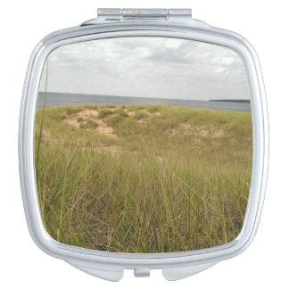 Sand dune vanity mirror