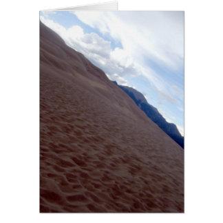 sand dunes 018 card
