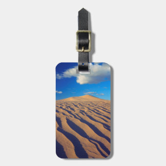 Sand Dunes and Clouds Bag Tag