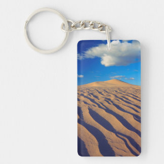 Sand Dunes and Clouds Keychain