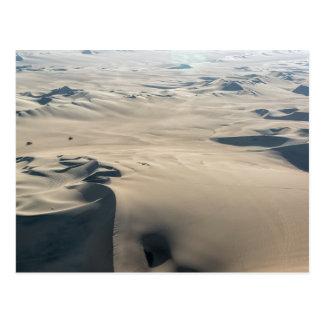 Sand Dunes and Dune Buggies Postcard