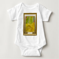 Sand dunes and hills, abstract art baby bodysuit