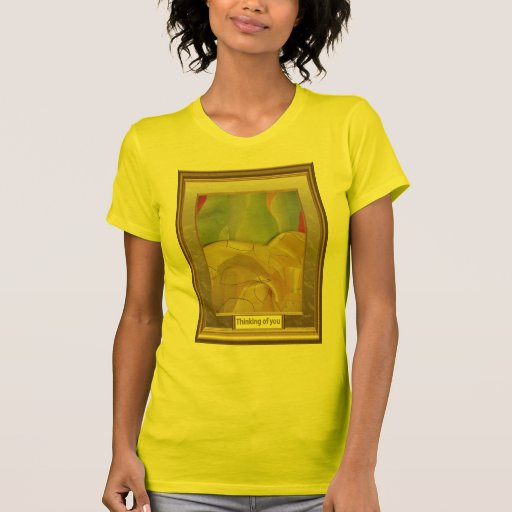 Sand dunes and hills, abstract art t-shirt