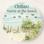 Sand Dunes and Seagulls Outer Banks North Carolina Coaster