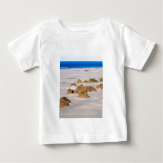 Sand dunes and tussock grass Farewell Spit Baby T-Shirt