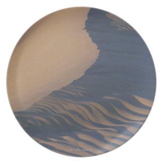 Sand dunes at Mesquite Flats Melamine Plate