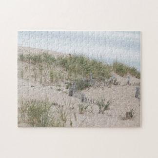 Sand dunes at Race Point, Cape Cod Puzzle