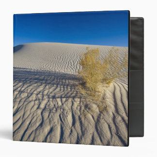 Sand dunes at White Sands National Monument in 3 Vinyl Binders