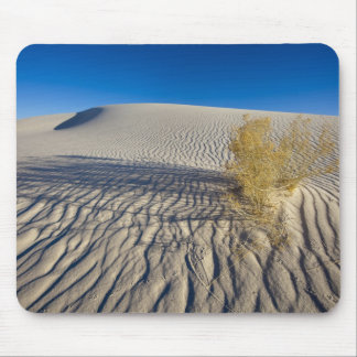 Sand dunes at White Sands National Monument in 3 Mouse Pad