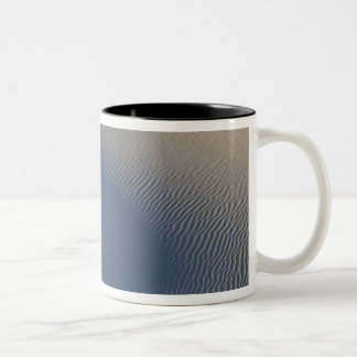 Sand dunes at White Sands National Monument in 4 Two-Tone Coffee Mug