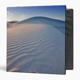 Sand dunes at White Sands National Monument in 5 3 Ring Binders