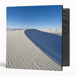 Sand dunes at White Sands National Monument in 3 Ring Binder