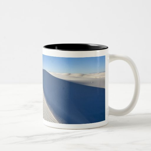 Sand dunes at White Sands National Monument in Coffee Mugs