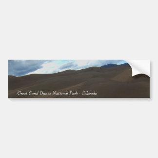 Sand Dunes Bumper Stickers